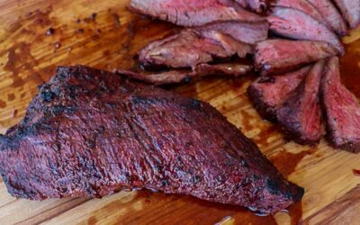 Smoked Wagyu Tri Tip Cooked Hot And Fast